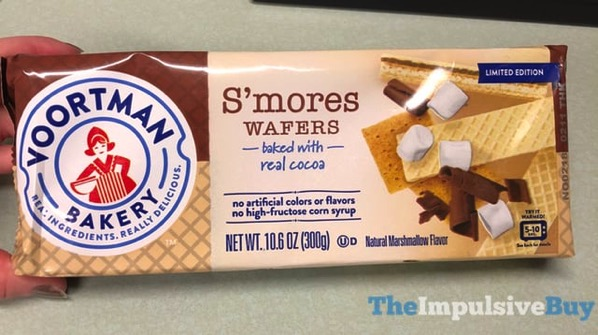 Voortman Bakery Limited Edition S mores Wafers