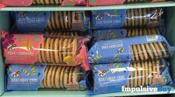 7 Select Birthday Cake Sandwich Cookies