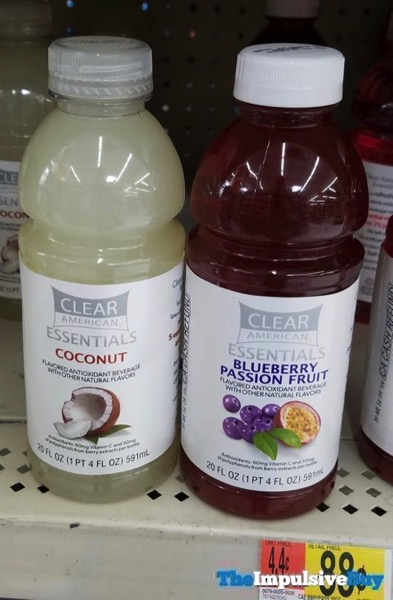 Clear American Essentials  Coconut and Blueberry Passion Fruit