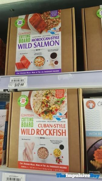 Contessa Cutting Board Moroccan Style Wild Salmon and Cuban Style Wild Rockfish