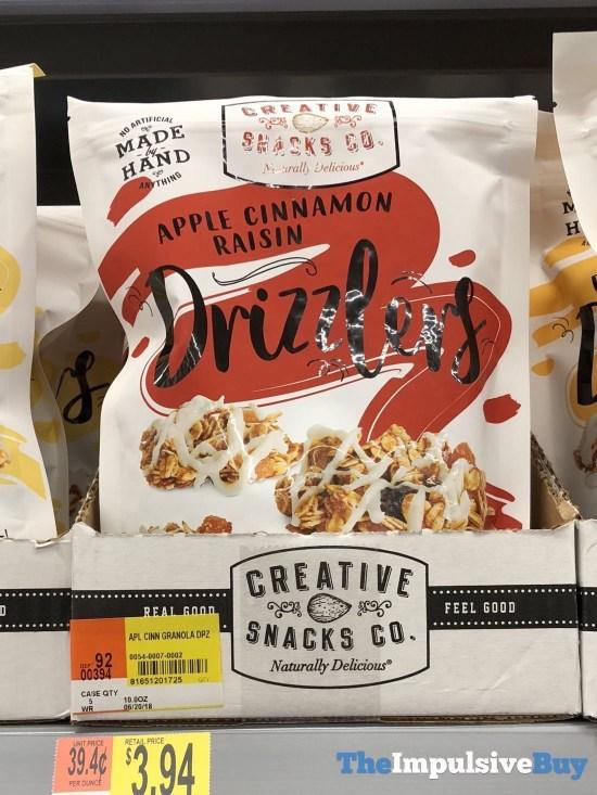 Creative Snacks Co Drizzlers Apple Cinnamon Raisin