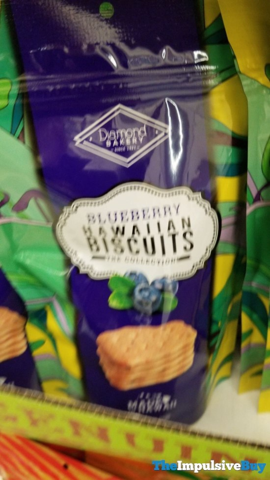 Diamond Bakery Blueberry Hawaiian Biscuits