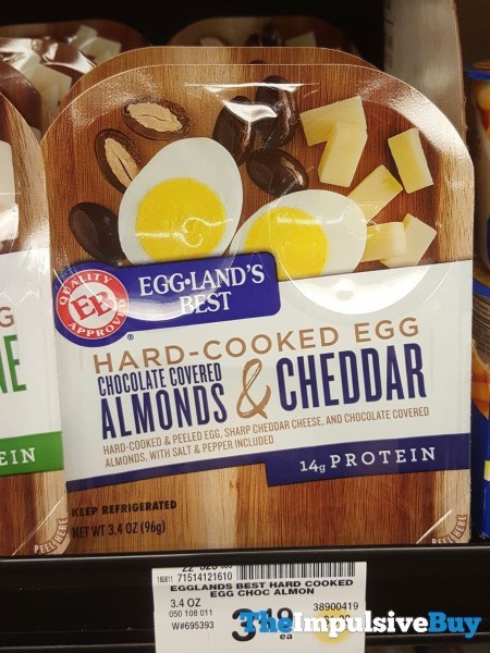 Egg Land s Best Hard Cooked Egg Chocolate Covered Almonds  Cheddar