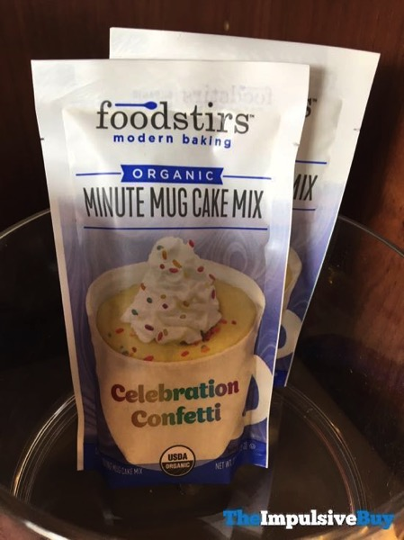Foodstirs Celebration Confetti Organic Minute Mug Cake Mix