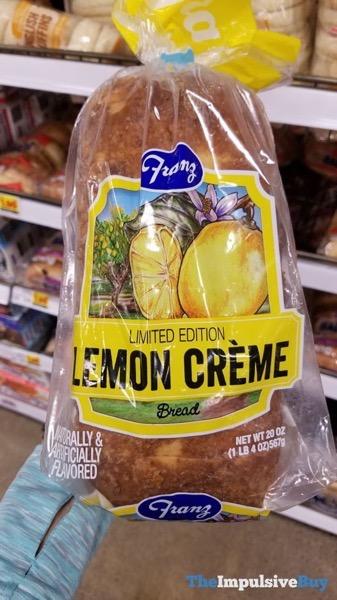 Franz Limited Edtiion Lemon Creme Bread