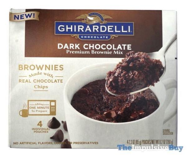 Ghirardelli Dark Chocolate Premium Brownie Mix