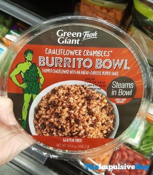 Green Giant Fresh Cauliflower Crumbles Burrito Bowl