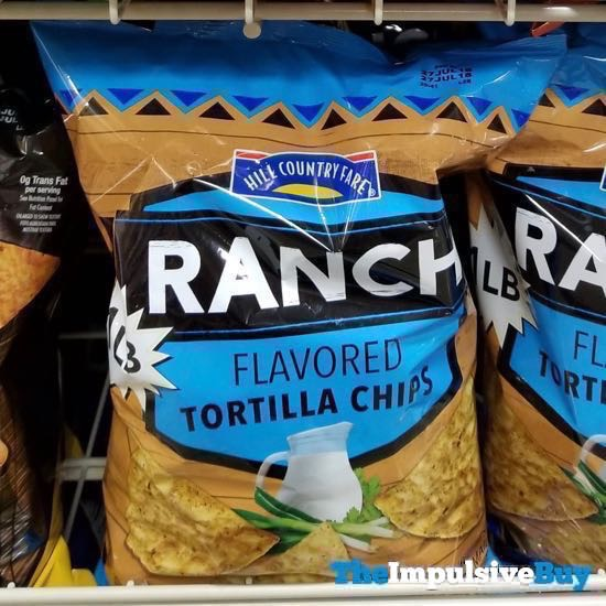 Hill Country Fare Ranch Tortilla Chips