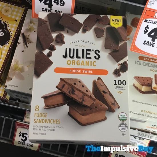 Julie s Organic Fudge Swirl Sandwiches