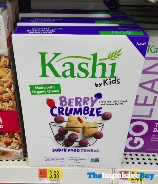 Kashi by Kids Berry Crumble Cereal