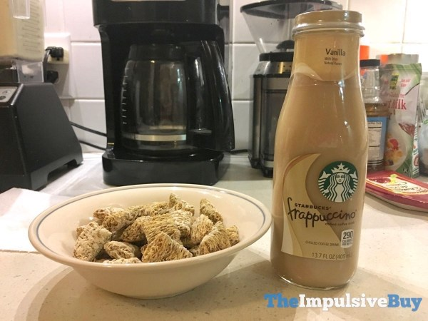 Kellogg s Frosted Mini Wheats Vanilla Latte Cereal 4