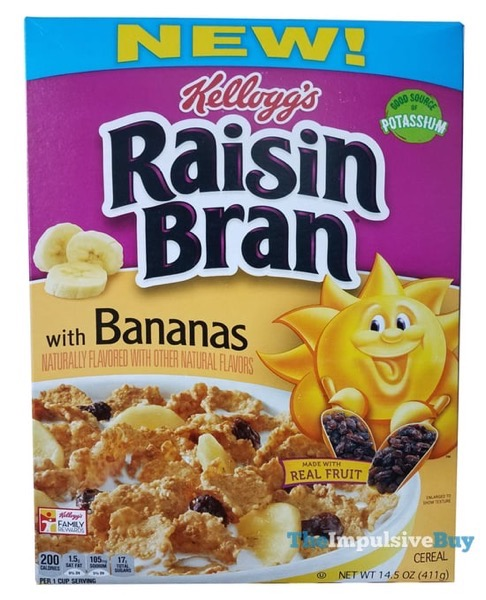 Kellogg s Raisin Bran with Bananas