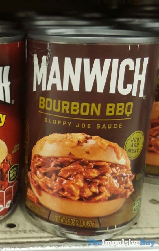 Manwich Bourbon BBQ Sloppy Joe Sauce
