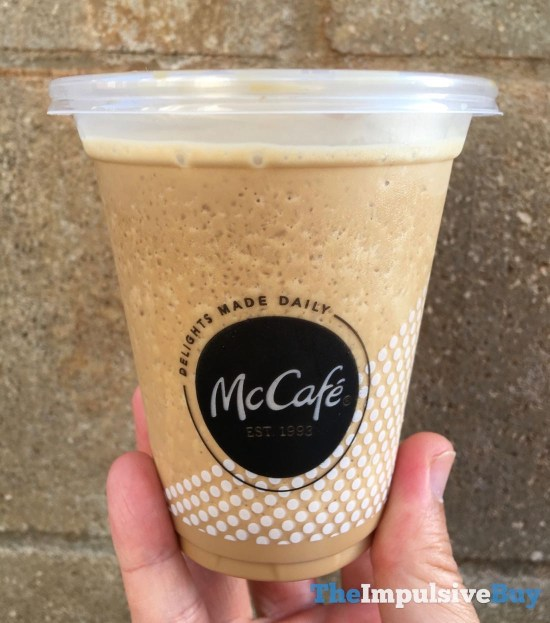 McDonald s Cold Brew Frozen Coffee