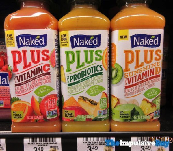 Naked Plus Sunshine with Vitamin D with Vitamin C and with Probiotics