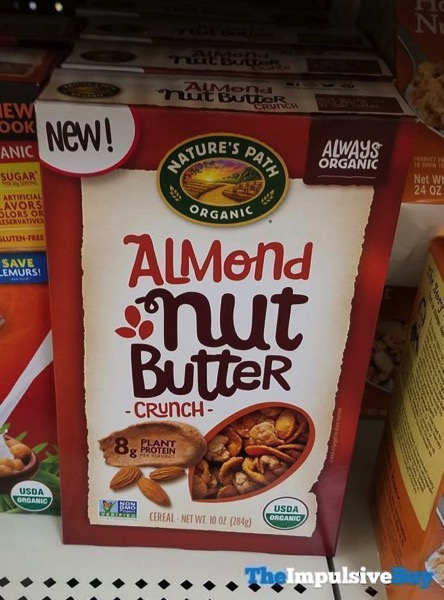 Nature s Path Organic Almond Nut Butter Crunch Cereal