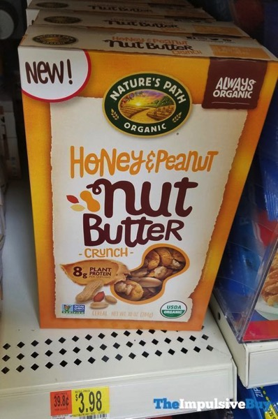 Nature s Path Organic Honey  Peanut Nut Butter Crunch Cereal
