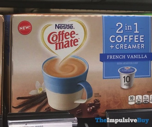 Nestle Coffee mate 2 in 1 Coffee + Creamer French Vanilla