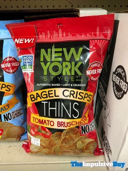 New York Style Bagel Crisps Thins Tomato Bruschetta