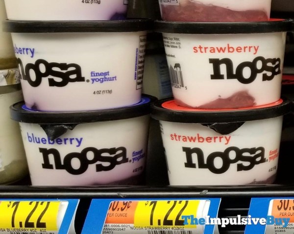 Noosa 4 Ounce Cups  Blueberry and Strawberry