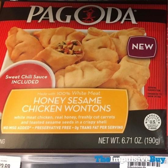 Pagoda Honey Sesame Chicken Wontons