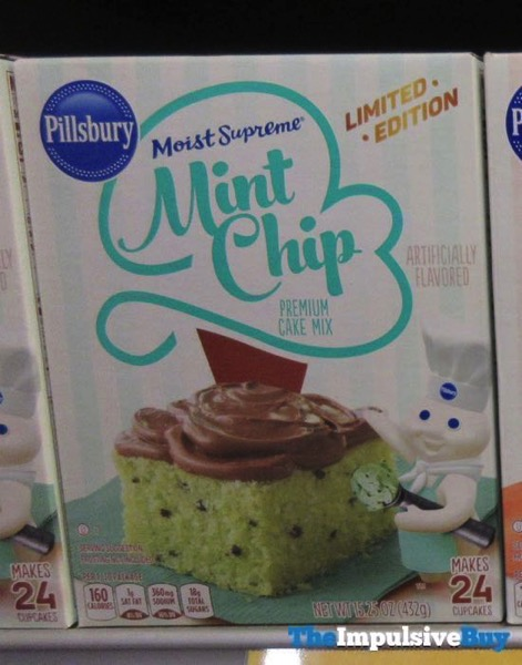 Pillsbury Limited Edition Moist Supreme Mint Chip Cake Mix