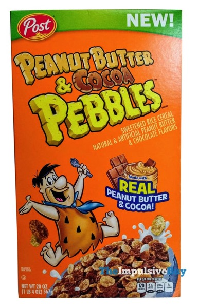Post Peanut Butter  Cocoa Pebbles Cereal