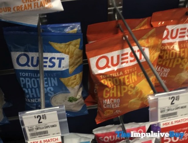 Quest Ranch and Nacho Cheese Tortilla Style Protein Chips