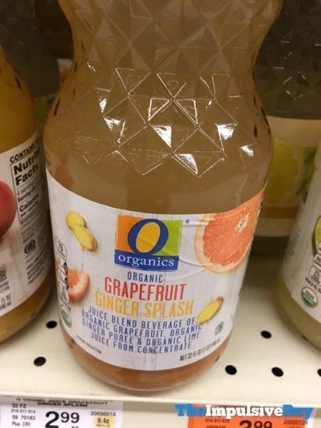 Safeway Organics Grapefruit Ginger Splash