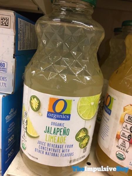 Safeway Organics Jalapeno Limeade