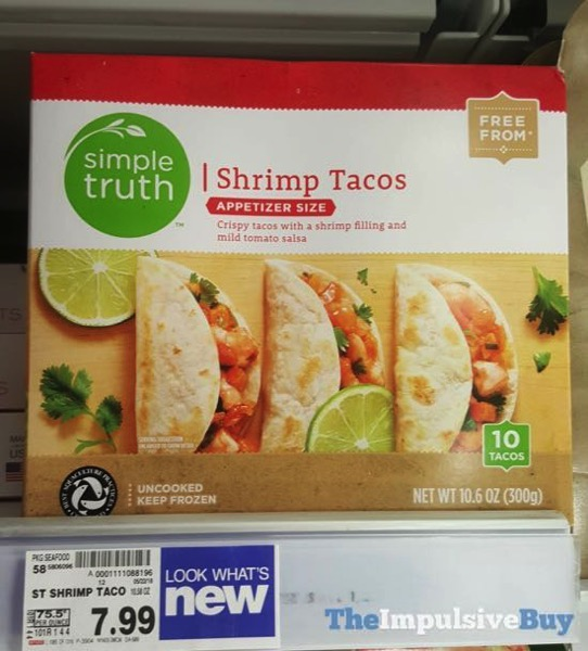Simple Truth Shrimp Tacos Appetizer Size
