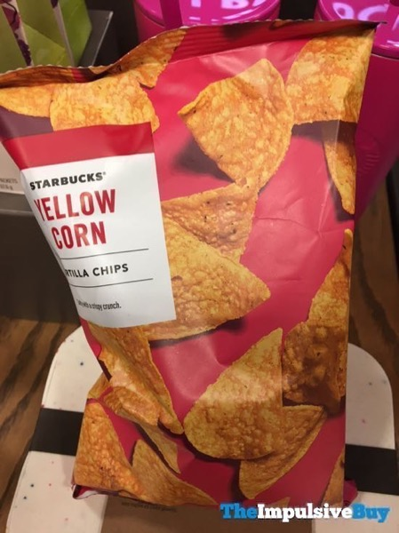 Starbucks Yellow Corn Tortilla Chips