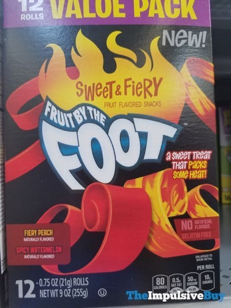 Sweet  Fiery Fruit By the Foot