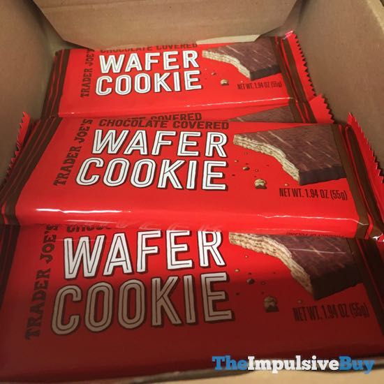 Trader Joe s Chocolate Covered Wafer Cookie