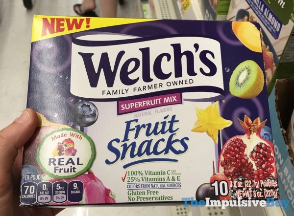 Welch s Fruit Snacks Superfruit Mix