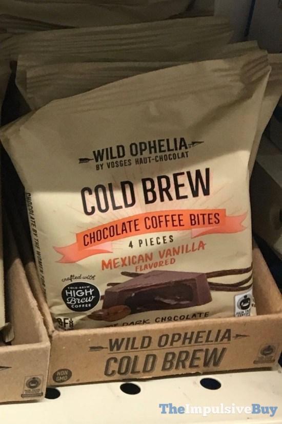 Wild Ophelia Cold Brew Chocolate Coffee Bites Mexican Vanilla