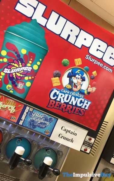 Cap n Crunch s Crunch Berries Slurpee