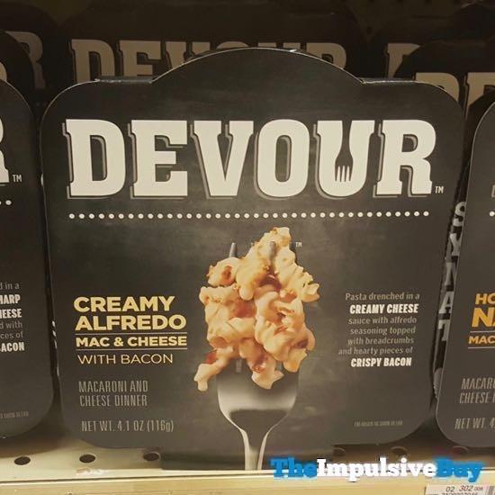 Devour Single Serve Creamy Alfredo Mac  Cheese with Bacon
