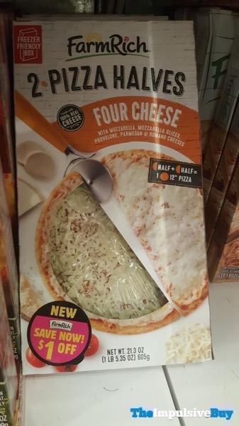 Farm Rich 2 Pizza Halves Four Cheese