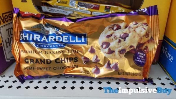 Ghirardelli Grand Chips Premium Baking Chips