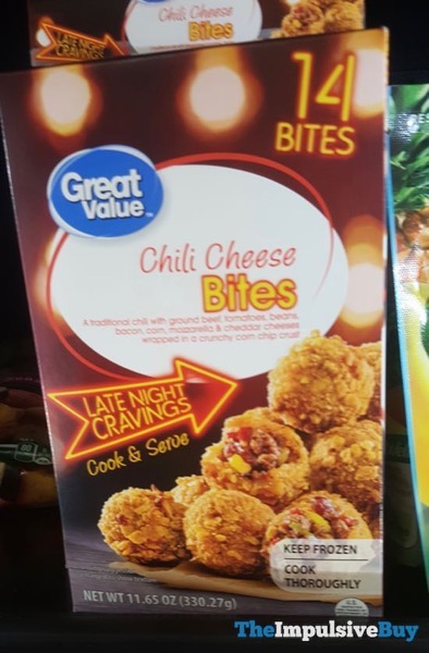 Great Value Chili Cheese Bites