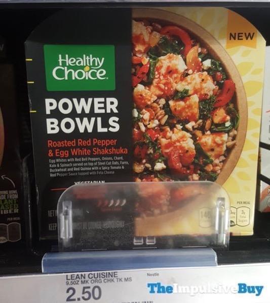 Healthy Choice Power Bowls Roasted Red Pepper  Egg White Shakshuka