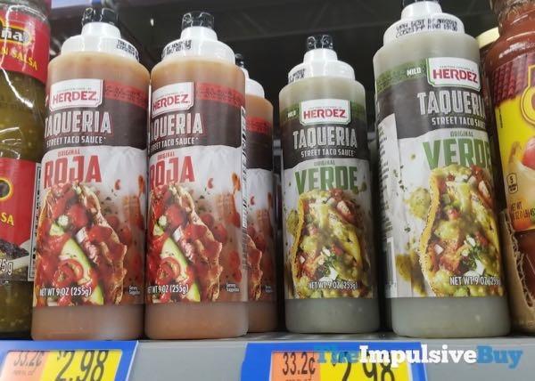 Herdez Taqueria Street Taco Sauces Roja and Verde