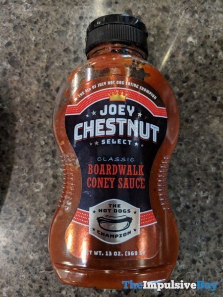 Joey Chestnut Select Classic Boardwalk Coney Sauce