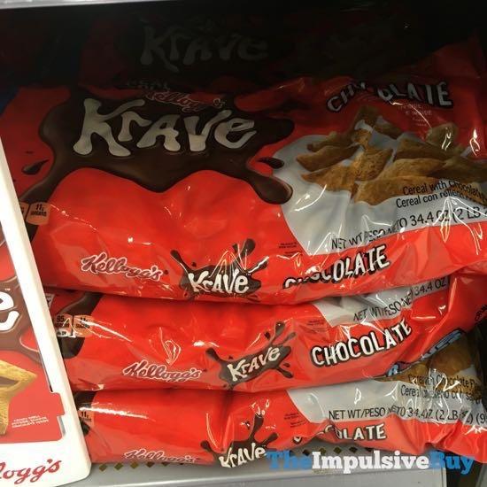 Kellogg s Krave Chocolate Cereal 2 2 LB Bag
