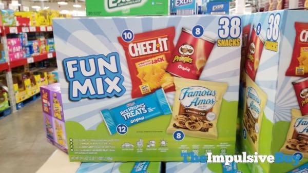 Kellogg s Snack Variety Pack Fun Mix 38 Pack