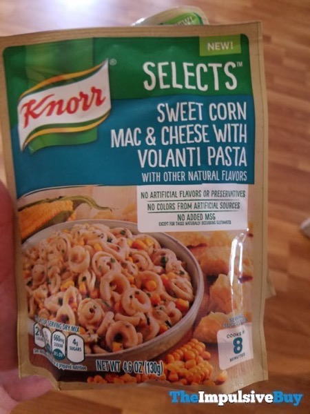 Knorr Select Sweet Corn Mac  Cheese with Volanti Pasta