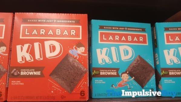 Larabar Kid Brownies  Chocolate Brownie and Chocolate Mint Brownie