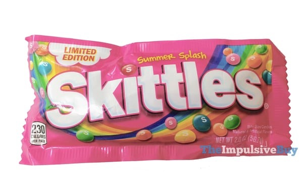 Limited Edition Summer Splash Skittles