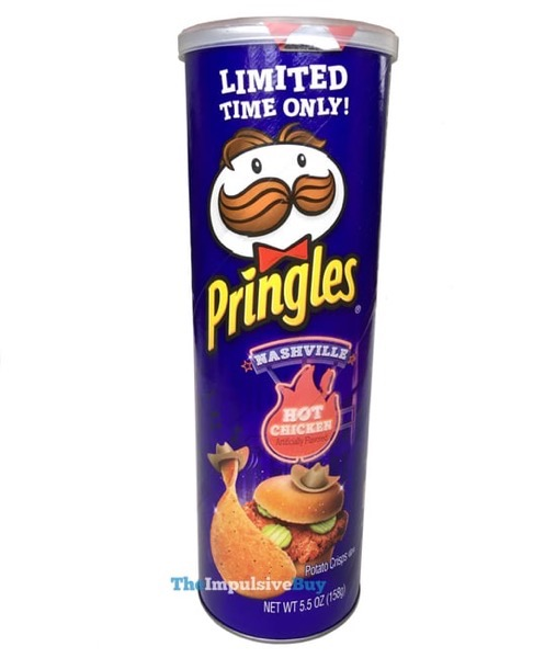 Limited Time Only Nashville Hot Chicken Pringles